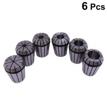 WINOMO 6pcs Ultra Precision ER32 Spring Collet Set Milling Lathe Tool Spring Collet Chuck For Engraving Machine Lathe