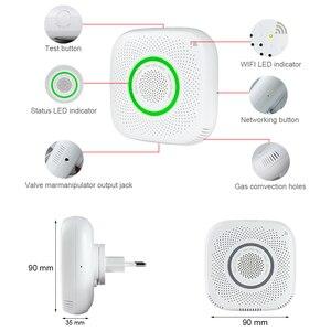 Image 5 - Tuya WiFi GAS LPG Leak detector alarm Security APP Control Safety smart home Leakage sensor