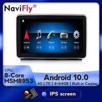 NaviFly HD screen Car audio gps player For Benz ML W166 2012 2015 with 4G RAM Fast running support Original car information