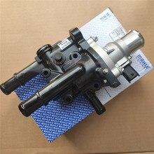 1Set alloggiamento gruppo termostato motore 96984104 originale per Opel Astra Zafira Signum Vectra Chevrolet Aveo Cruze Sonic 1.6 1.8