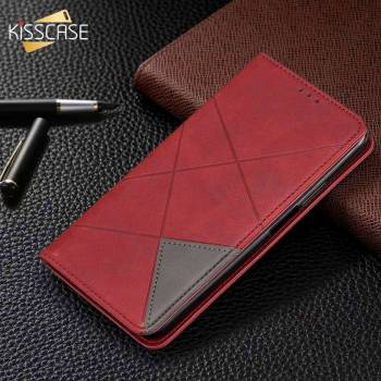 KISSCASE Flip PU Leather Holder Case For iPhone 11 Pro Max XR XS Max 7 8 Magnetic Phone Bag Pouch X 6 6S 7 8 Plus Stand Holster 1
