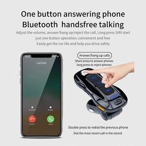 Автомобильный mp3-плеер CDEN, Bluetooth 5,0 приемник, FM передатчик, PD, 18 вт, USB порт для зарядки, автомобильное зарядное устройство, U-диск, музыкальный п...