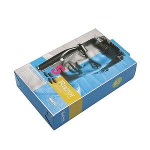 Image 5 - Twarz ciało włosy trymer broda akumulator profesjonalna brzytwa golarka elektryczna USB depilator ścinanie włosów maszyna mężczyzna pielęgnacja