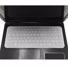 Keyboard Cover Kulit Tahan Air Tahan Debu Silikon Film Universal Keyboard Tablet Pelindung untuk 13-17 Inch Notebook(China)