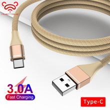 MUSTTRUE USB-C Type C Cable USB Wire for oneplus 6t xiaomi mi 9 USBC Sync Adapter Cahrging Line for Samsung s10 typec cable(China)