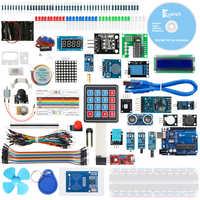 Keywish RFID Super Starter zestaw do arduino R3 z 34 lekcjami, pełnym modułem, bez lutowania, kontrola aplikacji wsparcia i Scratch Mblock