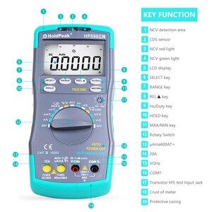 Image 5 - HoldPeak HP890CN Stable LCD Digital Multimeter DC AC Voltage Current HP 890CN Temperature Meaurement Auto Range