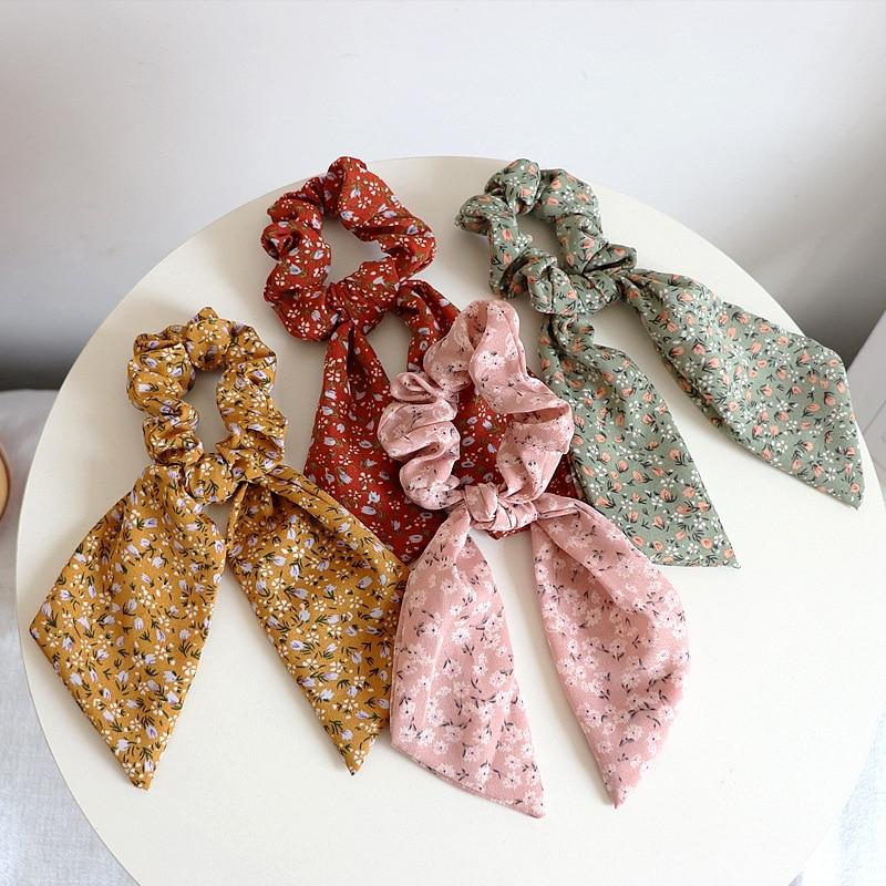 Карамельный цвет Женская резинка для волос луки тканью; Прическа хвостик; В наличии повязка на голову с бантом Резинки для волос для девочек...