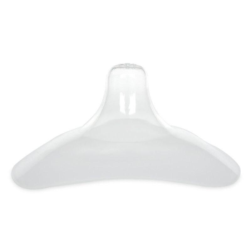 1 Pair Silicone Nipple Shield Maternity Silica Baby Breast Milk Feeding Cover