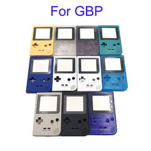 5pcs gray Silver Clear Green Plastic Shell Case Cover Replacement For Gameboy Pocket Game Console Housing For GBP(China)