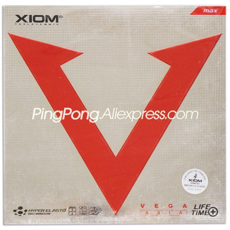 XIOM VEGA Asia Table Tennis Rubber Original XIOM VEGA Ping Pong Sponge