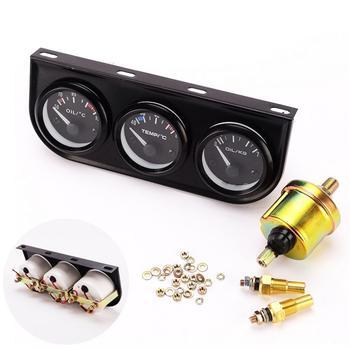 52 مللي متر الثلاثي عدة النفط درجة حرارة الماء درجة الحرارة النفط ضغط الاستشعار سيارة سيارة متر مقياس