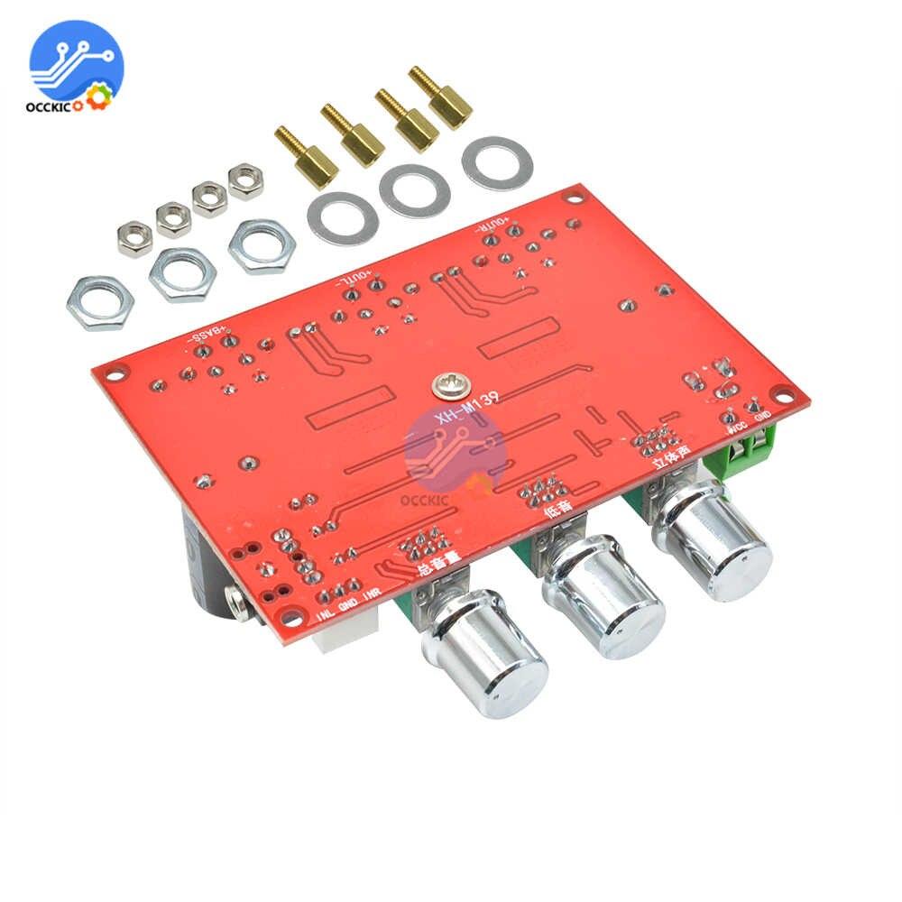 Image 2 - TPA3116D2 Плата усилителя двухканальный стерео высокой мощности цифровой аудио усилитель мощности плата 2X50W + 100W динамик звуковой модульboard boardboard digitalboard amplifier  АлиЭкспресс