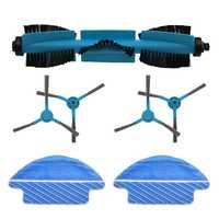 Accessori di ricambio Pennello A Rullo Spazzola Laterale Mop Robot Spazzatrice Accessori di Ricambio per Conga 3090 Aspirapolvere