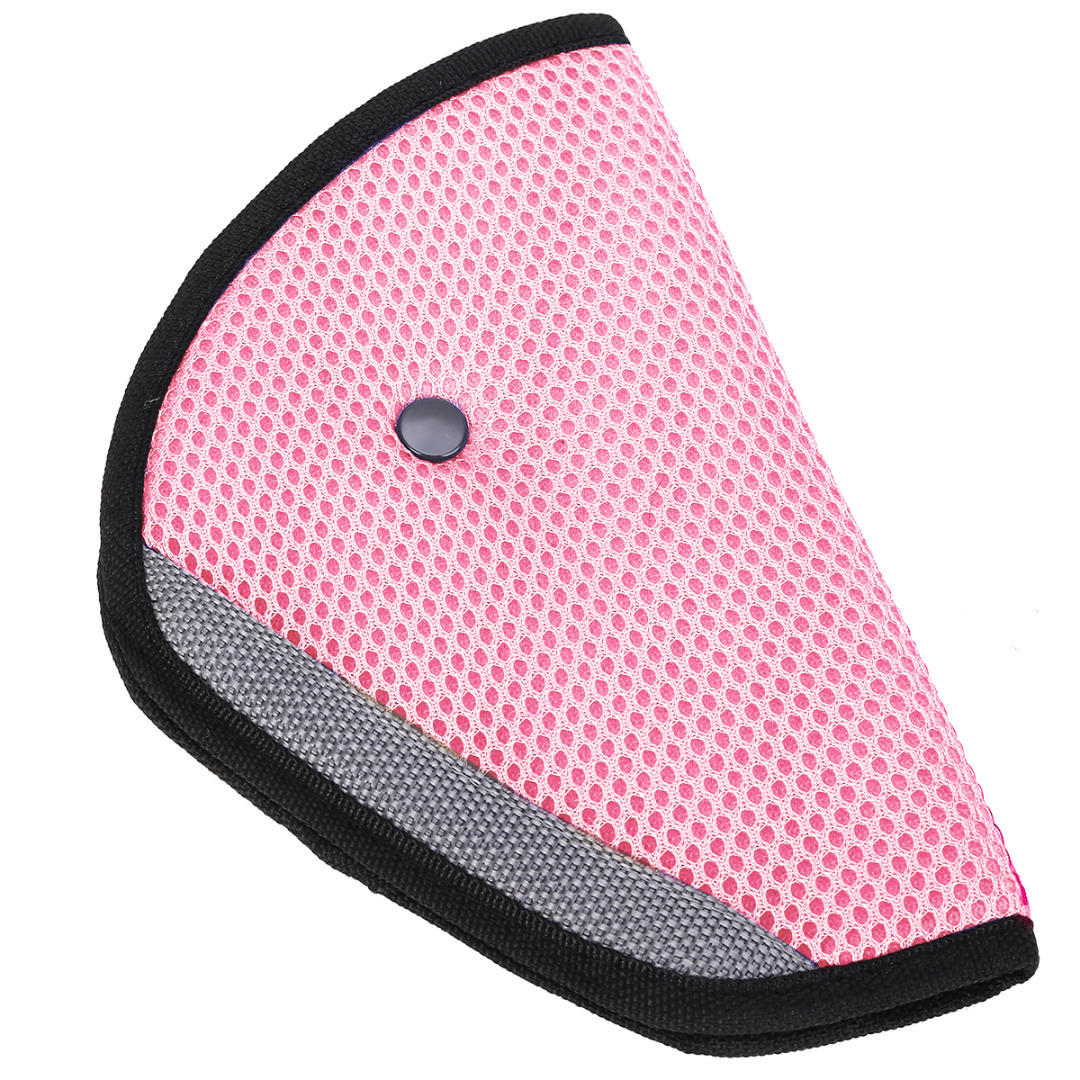 New Safety Seat Belt Padding Adjuster for Children Kids Baby Car Protection Safe Fit Soft Pad Mat Strap Cover Auto Accessories