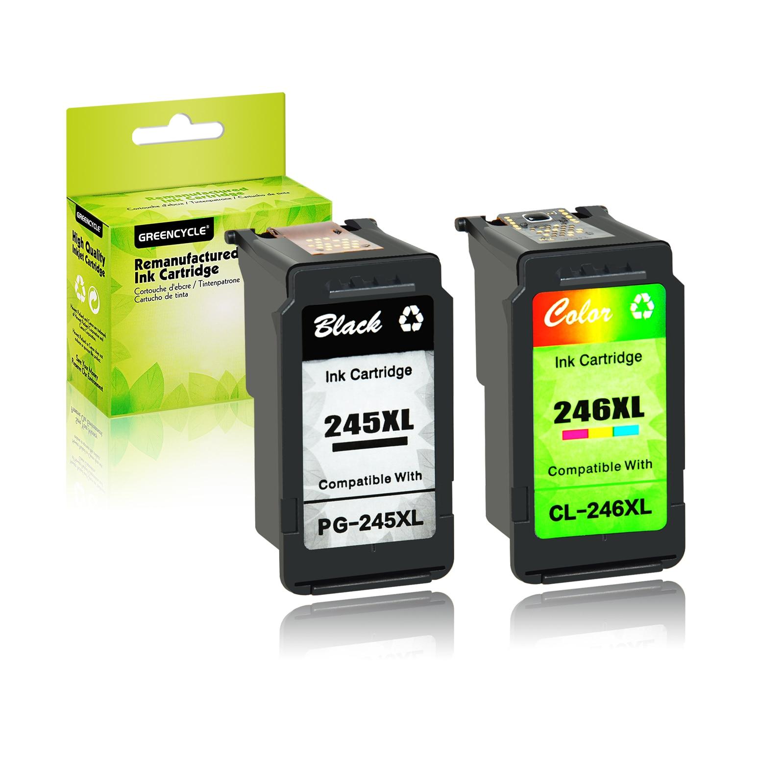 PG-245XL черный CL-246XL цветной чернильный картридж для Canon PIXMA TS3122 iP2820 MG2420 MG2520 MG2920 MG2522 MG2550 MX492 MX490 MX495