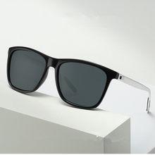 ZXWLYXGX Design Da Marca 2020 Fashion Square Óculos De Sol dos homens de pesca Condução Óculos de Sol Masculinos UV400 Proteção Shades oculos de sol