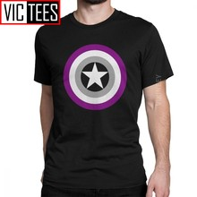Männer der Stolz Shields Asexual T-shirt Asexuality Lgbt Lgbtq Ace 100 Prozent Baumwolle Kleidung Lustige Winter T-shirt(China)