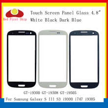 10Pcs/lot Touch Screen For Samsung Galaxy S3 S III GT-I9300 I9300 i747 i9305 Touch Panel Front Outer S3 LCD Glass Lens