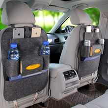 Waterproof Vehicle Storage Sundries Bag Car Seat Back Protector Cover For Mat Children Baby Bag Protect Kick