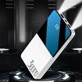 Banco de potência 30000 mah para iphone 11 pro x xiaomi powerbank pover banco carregador duplo usb portas bateria externa poverbank portátil