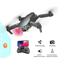 Drone 4k GPS Infrared Obstacle Avoidance HD WiFi 1080p FPV Dron Camera Optical Flow Positioning RC Quadcopter Drone with Camera