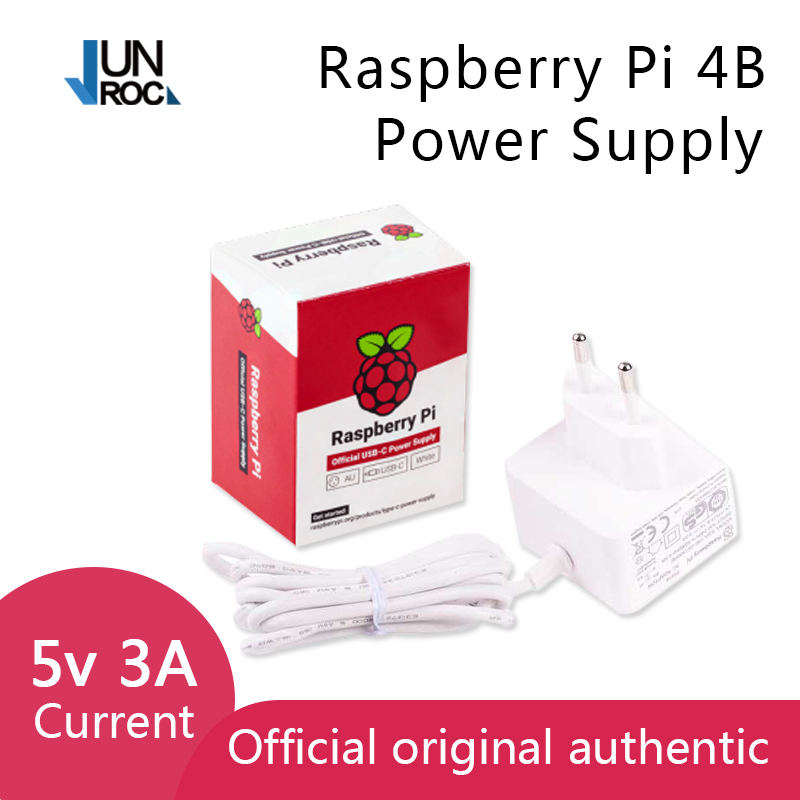Raspberry Pi 15 3W USB-C Power Supply The official and recommended USB-C power supply for Raspberry Pi 4