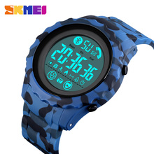 SKMEI Military Waterproof Male Digital Wristwatches Heart Rate Monitoring Pedometer Mens Sports Watches Relogio Masculino 1626 pedometer heart rate monitor calories counter led digital sports watch skmei fitness for men women outdoor military wristwatches