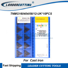 TNMG160404-UK GK1115 1TNMG160408-UK TNMG160412-UK GK1115*10pcs Turning carbide inserts,TNMG Turning for blades Tip for Cast Iron(China)