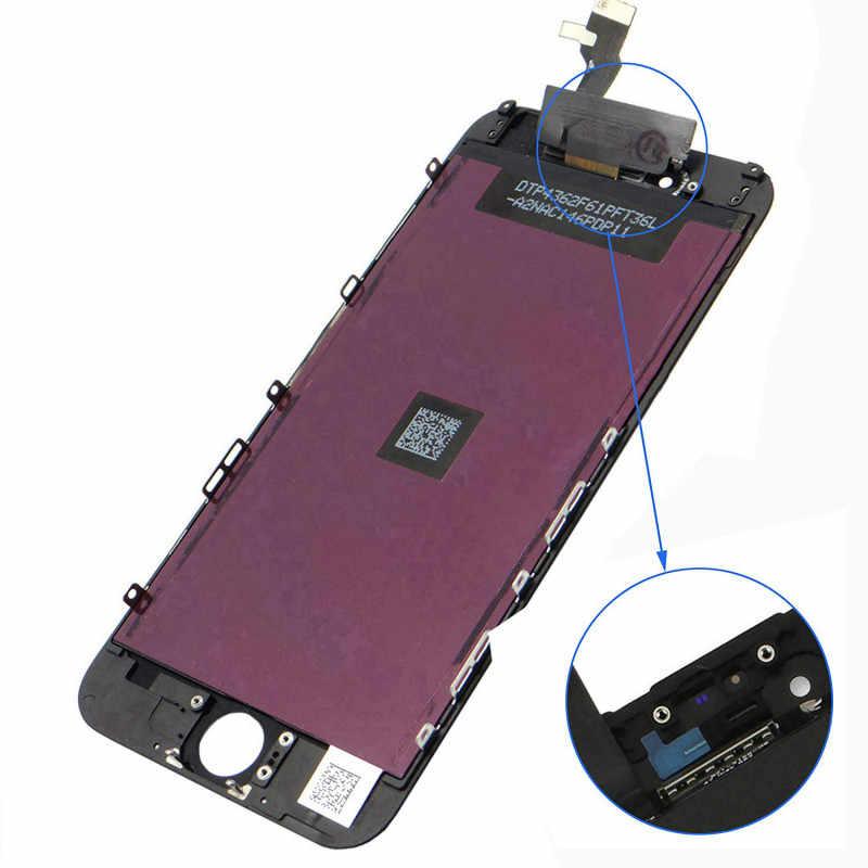 צבע מסך LCD עבור iPhone 6 6s LCD תצוגת עצרת Digitizer לא מת פיקסל עם 3D מגע החלפת LCD עבור iPhone 6 6sPlus