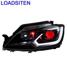 Cob Daytime Styling Drl Running Lights Lamp Luces Led Para Auto Assessoires Car Lighting Headlights FOR Volkswagen Lamando(China)