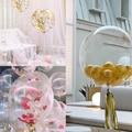5 шт. 18/20/24/36 дюймов прозрачные гелиевые надувные шары большой воздушный шар прозрачный воздушный шар детский душ свадьба день рождения Деко...