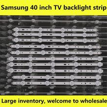 Barras de luces LED para TV, para Philips 40PFL3208T/60 40PFL3208H/12 40PFL3108T/60 40PFL3078/12, Kit de tiras de retroiluminación, lentes de lámparas LED, 10 bandas