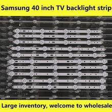 Kit de bande rétro éclairé, objectif barres lumineuses à LED, 10 bandes, TV lampes LED, pour Philips 40PFL3208T/60 40PFL3208H/12 40PFL3108T/60 40PFL3078/12