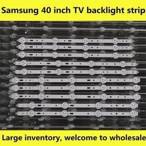 Image 1 - Kit de bande rétro éclairé, objectif barres lumineuses à LED, 10 bandes, TV lampes LED, pour Philips 40PFL3208T/60 40PFL3208H/12 40PFL3108T/60 40PFL3078/12