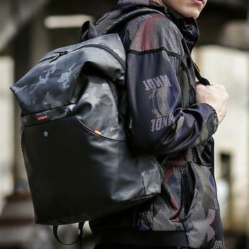 Fashion Men Camouflage Backpack Schoolbag Luxury Computer Backpacks Waterproof Bag Large-capacity Outdoor Sports Travel Backpack