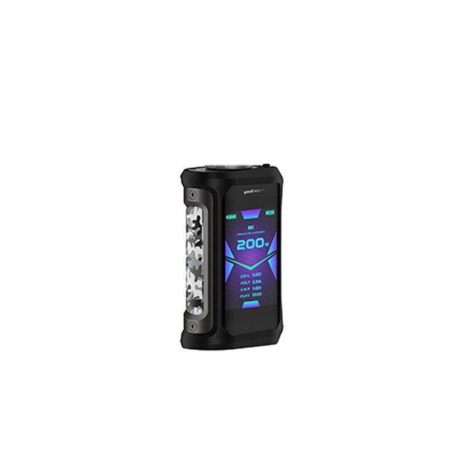 Оригинальный Geekvape Aegis X 200 Вт Vape mod IP67 Водонепроницаемый Бокс мод электронная сигарета с zeus sub Ом Танк vs ageis мини vape - 6