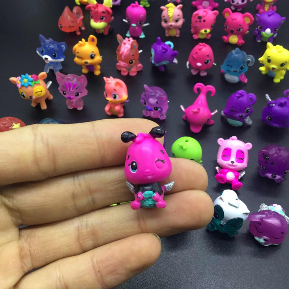 Random Lot 20PCS Hatchicmals Colleggtibles Animals Mini Figure Cute Kids Gifts