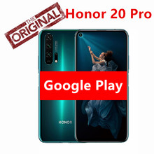 "Original Honor 20 Pro Smartphone Kirin 980 Android 9 6.26 ""IPS 2340X1080 8GB RAM 128GB ROM 48,0 MP + 32,0 MP Fingerprint NFC Telefon(China)"