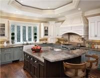 2020 traditional solid wood kitchen furnitures solid timber kitchen cabinets tk201