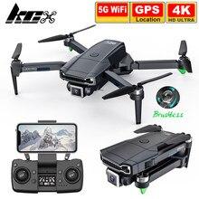 Kcx l800 pro câmera zangão 4k gps profissional 1.2km de longa distância 5g fpv motor sem escova dobrável quadcopter dron pk sg108 l900