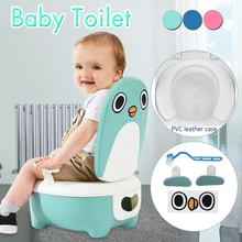 Penguin Baby Potty Toilet Urinal Kids Potty training Baby Boys Pee Toilet infant Bathroom Wall-Mounted Urinal girls Travel Pott