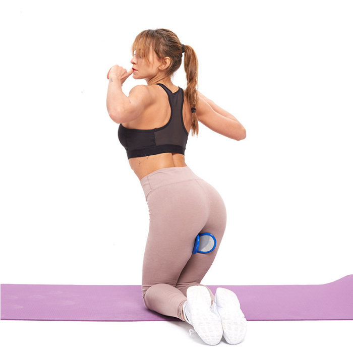 Newly PVC Exerciser Hip Trainer Clip Buttocks Training Body Inner Thigh Pelvic Floor Muscle Firming S66