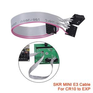SKR MINI E3 V2.0 Interface Cable LCD12864 E3 DIP TFT24 Special 2 in 1 Cable 30cm 3D Printer Parts Original CR10 CR10S 12864LCD