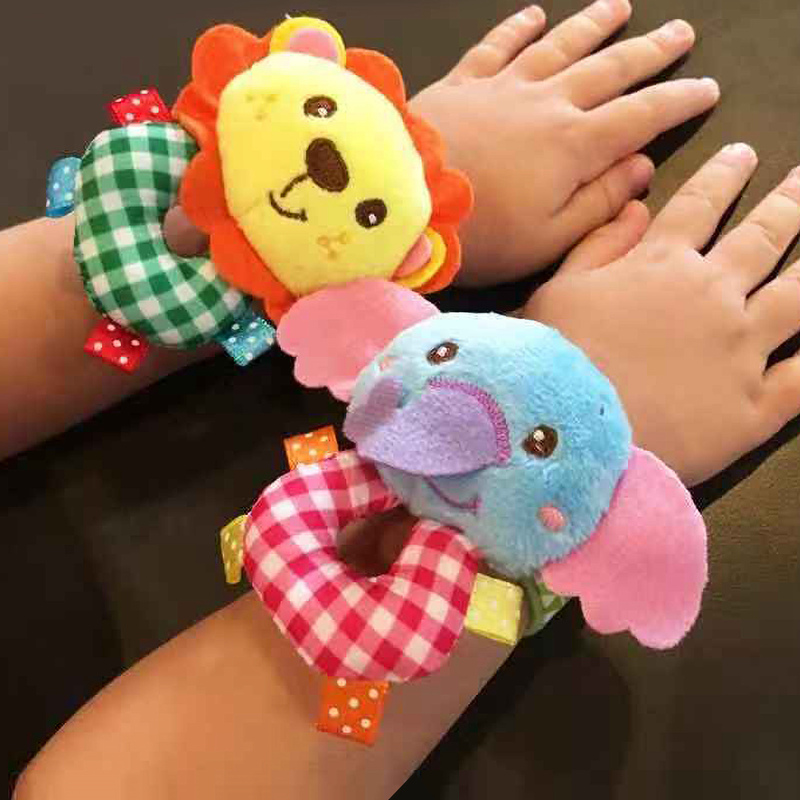 Let's Make Baby Rattle 0-12 Moths Toys For Newborn Foot Socks Cotton Cartoon Shape Baby Gift 1pc Montessori Education Rattle Toy