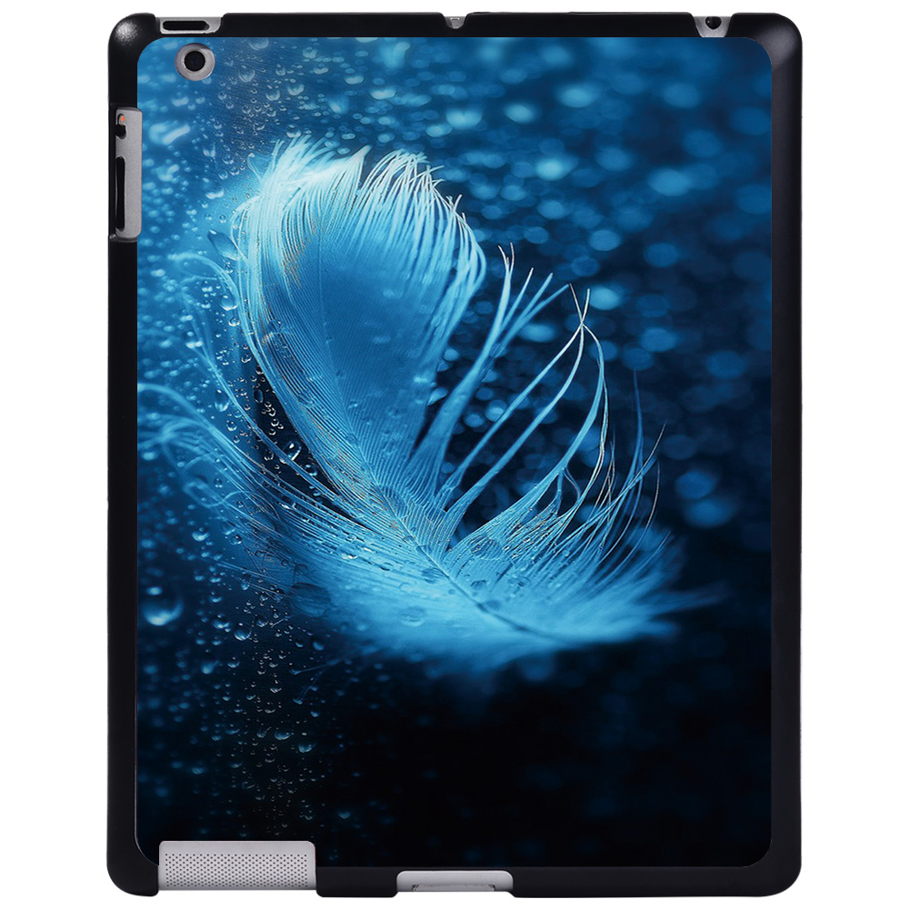 raindrop feather Ivory For Apple iPad 8 10 2 2020 8th 8 Generation A2428 A2429 tablet PC Plastic Printed