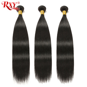 RXY Indian Hair Bundle Double Weft Long Straight Hair Bundles 100% Remy Human Hair Extension 10