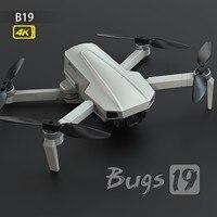 2021 neue Mjx Bugs 19 Gps Drone Mit 5g Wifi Fpv 4k Ultra Kamera Uav Autoreturn B19 Faltbare bürstenlosen Rc Quadcopter Drone
