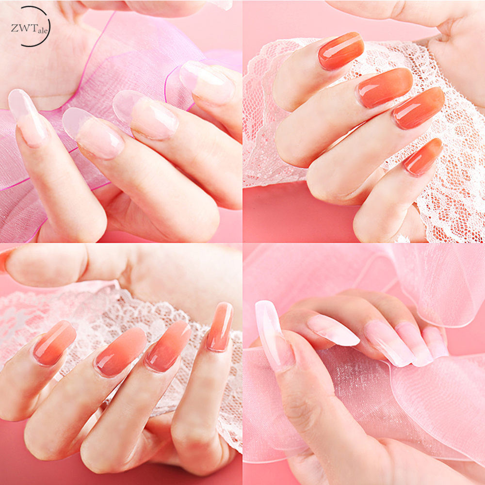 ZWTale 15ml POLY GEL Quick Building Nail Tips Extension Camouflage Builder UV LED Polygel in Nail Gel from Beauty Health