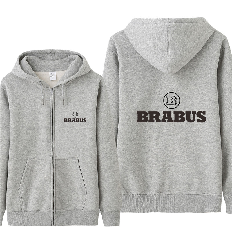 Autumn Brabus Sweatshirt Hoodies Men Fashion Coat Pullover Fleece Pullover Unisex Man Brabus Sweatshirts HS-077